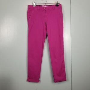 Vineyard vines pink skinny pants size 0 -C7